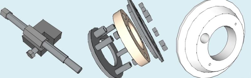 Оснастка для производства ПИ-трубы в ППУ.
